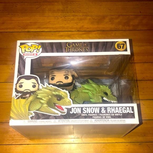 Funko Pop! Game Of Thrones - Jon Snow with Rhaegal